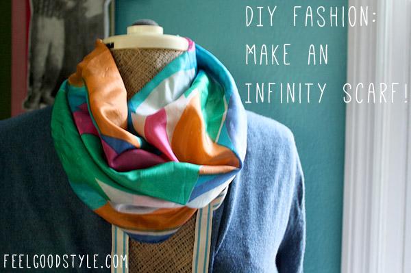 DIY Fashion Infinity Scarf