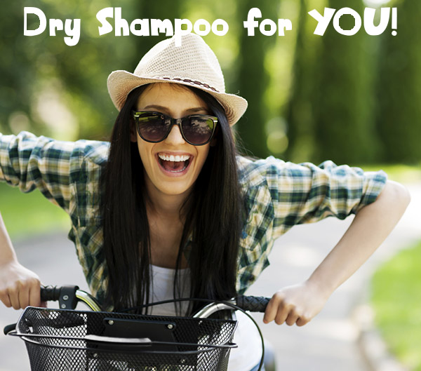 Dry Shampoo Recipe for Dark Hair