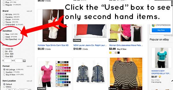 Image result for ebay second hand