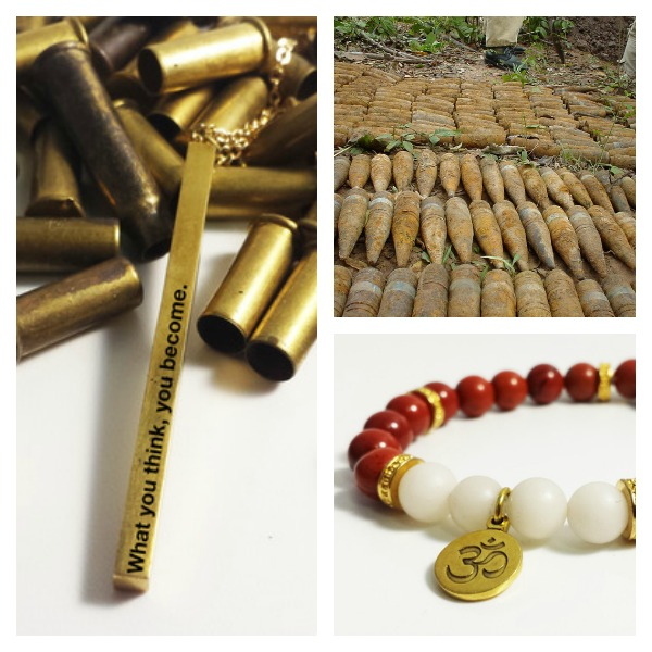 Upcycled Jewelry Transforms Weapons into Livelihoods
