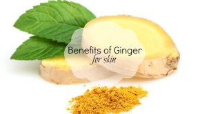 Benefits of Ginger for Skin