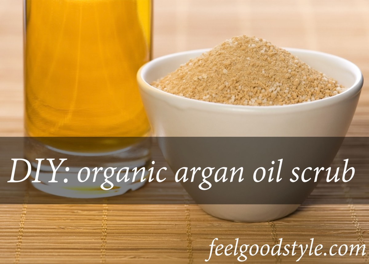 Organic Argan Oil for Skin: How to Make Your Own Scrub