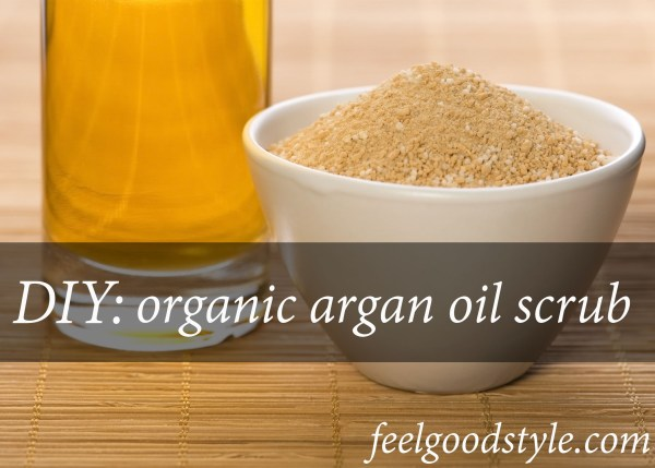 How to make your own argan oil body scrub using three easy ingredients! When it comes to lotions, cleansers, and exfoliators, I'm a little wary of what I put on my body, which is why I've been using organic argan oil for skin care.