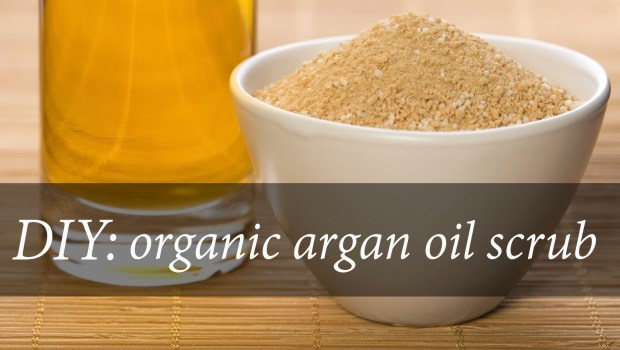 How to make your own argan oil body scrub using three easy ingredients