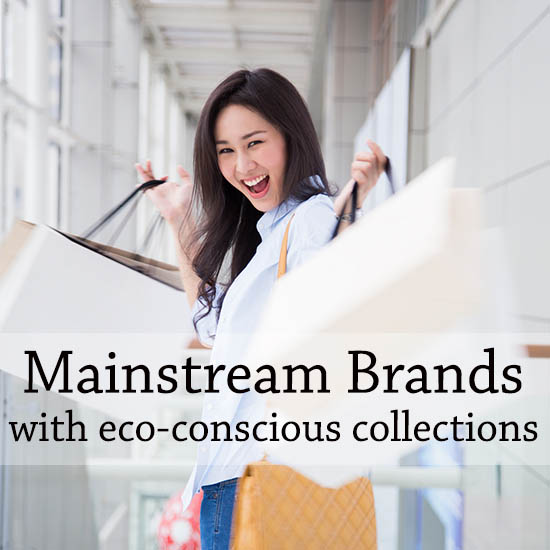 Major brands with eco-collections