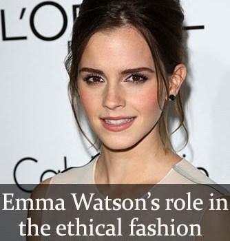 Emma Watson and sustainable fashion