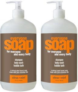 everyone soap citrus mint