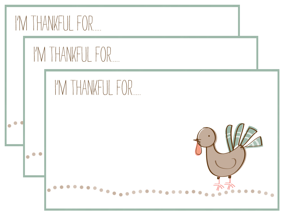 I M Thankful For Free Printables