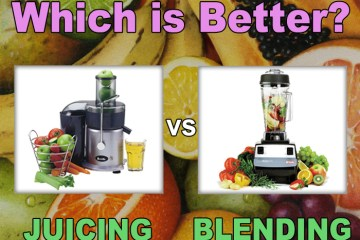 juicing vs blending benefits