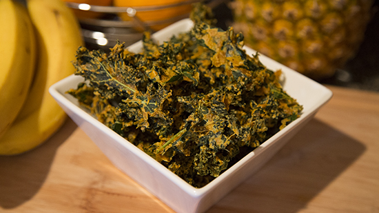 How to make Kale Chips | Keto Kale Chips