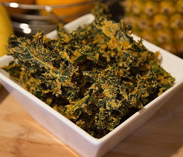 How to make Kale Chips   Keto Kale Chips