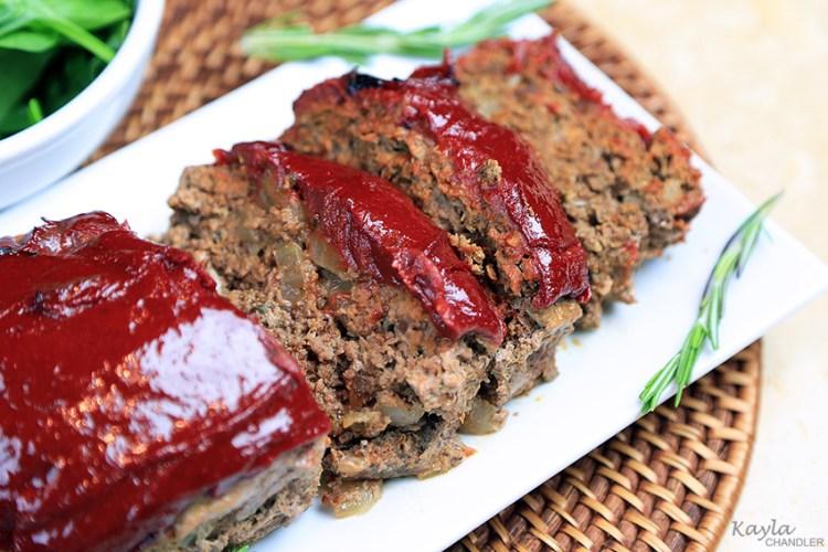 Grain Free Paleo Meatloaf Recipe