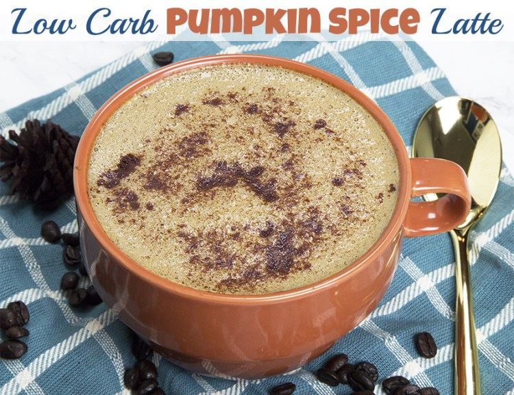 Keto Pumpkin Spice Latte Recipe