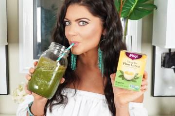Green Tea Energizing Detox Smoothie