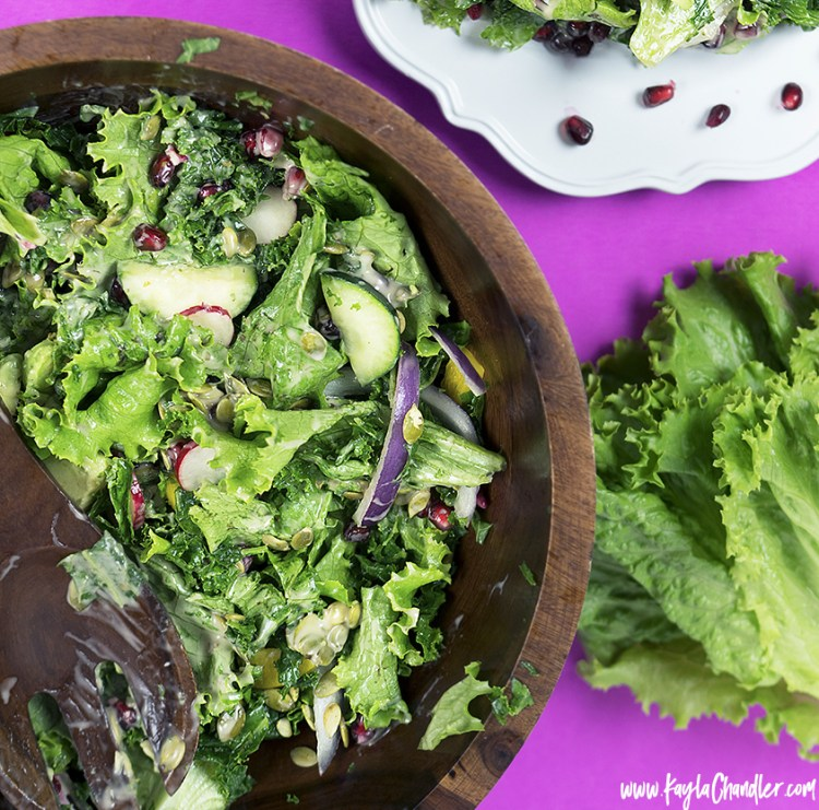 Detox Salad Recipe for Glowing Skin