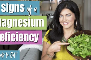 Signs of a Magnesium Deficiency | Foods high in Magnesium