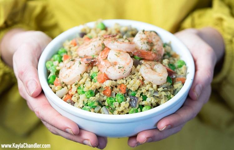 Low Carb Cauliflower Fried Rice Recipe