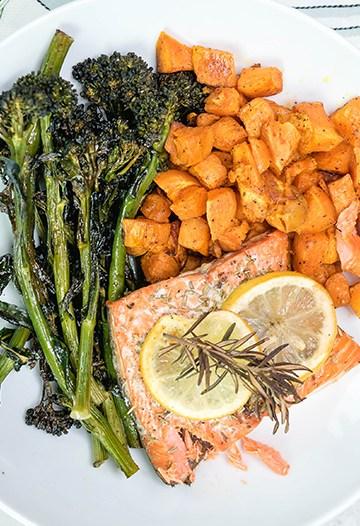 Easy Healthy Sheet Pan Dinner