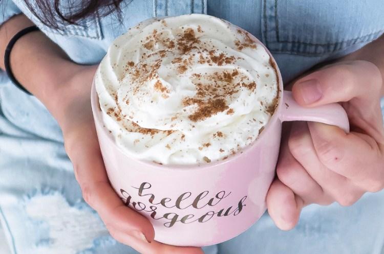 Healthy Pumpkin Spice Latte - Sugar Free