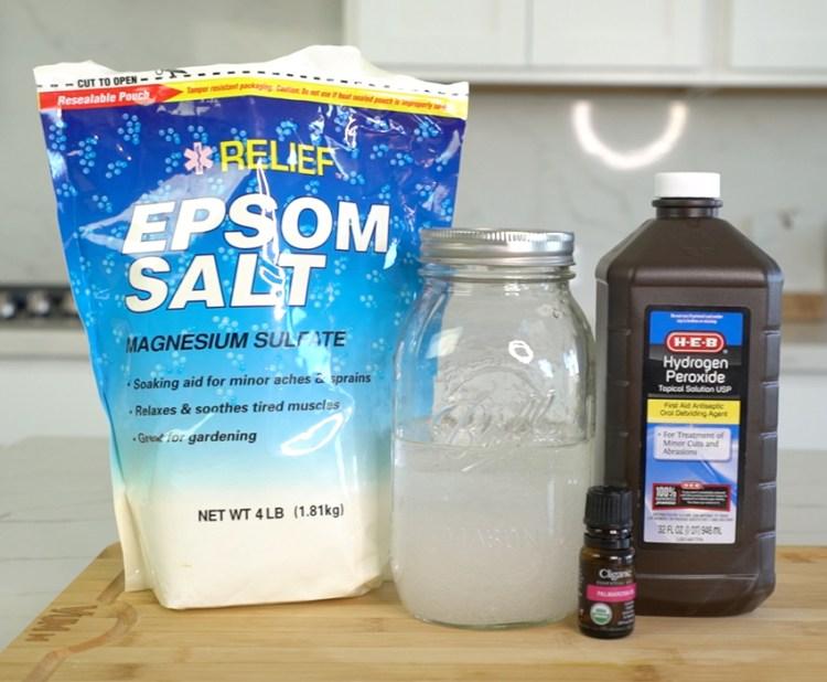 Hydrogen Peroxide Detox Bath