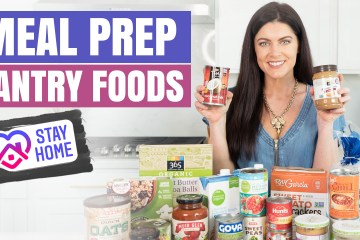 Healthy Meal Ideas with Pantry Foods