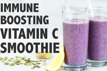 Immune Boosting Foods | Vitamin C Smoothie