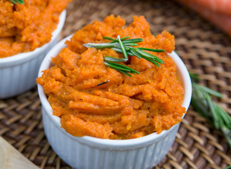 Gluten Free Cinnamon Honey Mashed Carrots Recipe