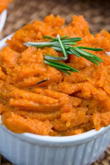 Gluten Free Cinnamon Honey Mashed Carrots Recipe