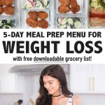 5-DAY HEALTHY MEAL PREP FOR WEIGHT LOSS