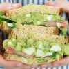 The BEST Avocado Egg Salad Sandwich