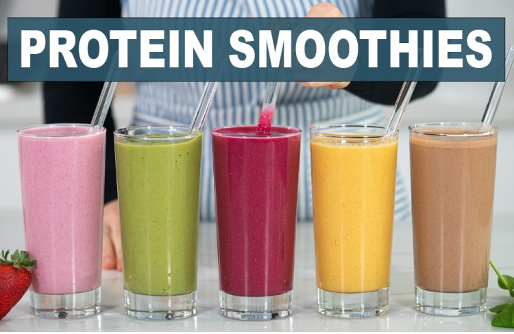 5 HIGH PROTEIN SMOOTHIES FOR FAT-BURNING, MUSCLE BUILDING, & METABOLISM