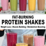 5 PROTEIN SHAKES FOR WEIGHT LOSS, MUSCLE BUILDING, & BOOSTING METABOLISM