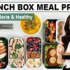 HEALTHY MEAL PREP   5 Make-Ahead Healthy Lunch Box Ideas for Work or School