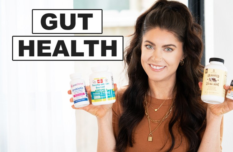 Best Supplements for Gut Health & Leaky Gut (my favs!)