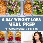 NEW! 5-DAY WEIGHT LOSS MEAL PREP (gluten & grain free)