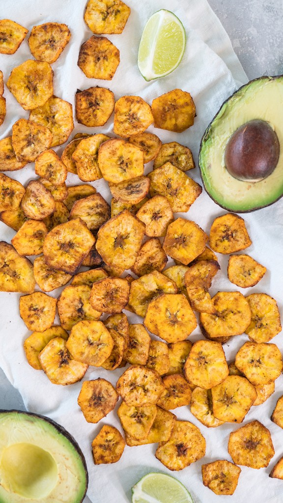 Chili Lime Plantain Chips   Healthy Snack Recipes