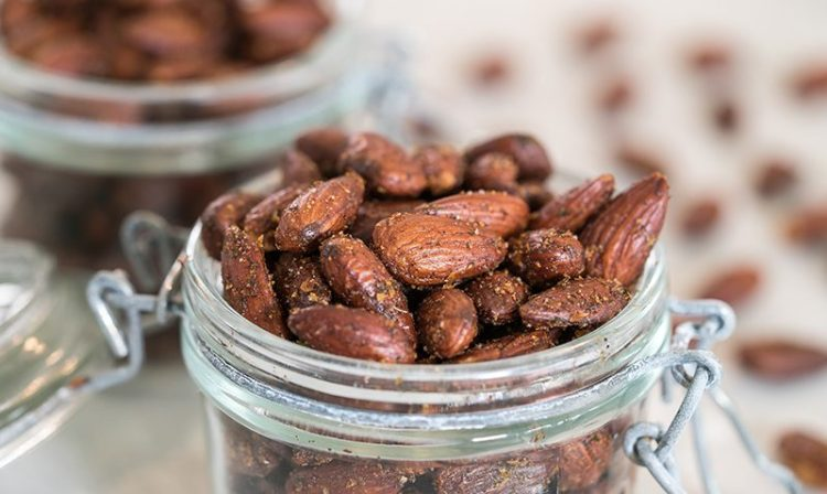 Homemade Ranch Roasted Almonds | Low Carb & Gluten Free