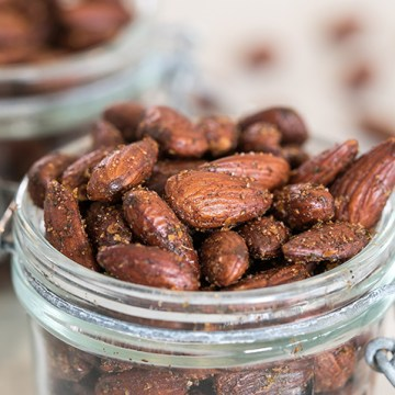 Ranch Roasted Almonds   Homemade & Low Carb Healthy Snack!