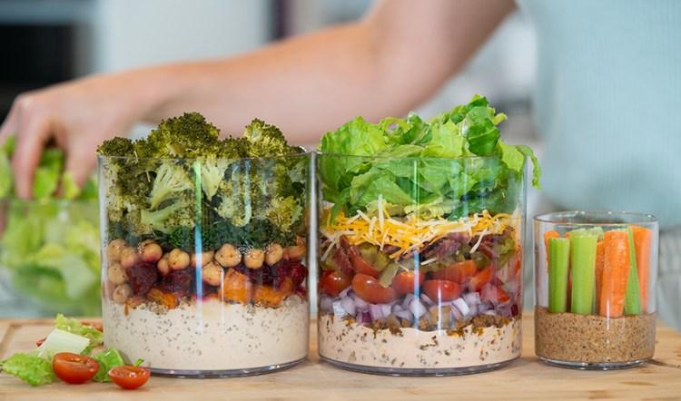 LUNCH PREP | 5 Make-Ahead Healthy Lunch Ideas (plus snacks!)