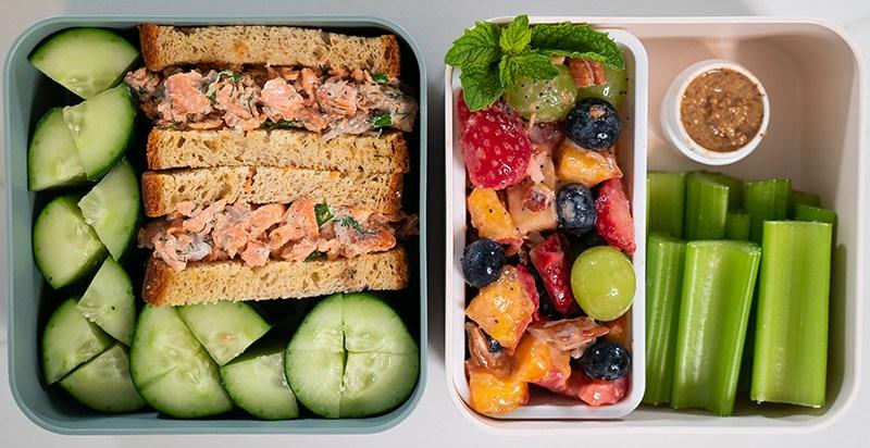 Greek Yogurt Fruit Salad | gluten free and grain free