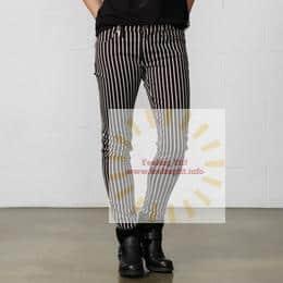 Ralph Lauren - Denim & Supply Piano-Striped Skinny Jean