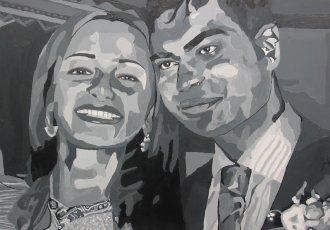 Couples Portrait Art