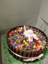 Bunny Cake Side View