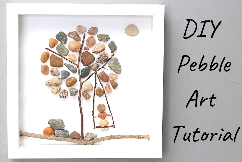 DIY pebble art tutorial