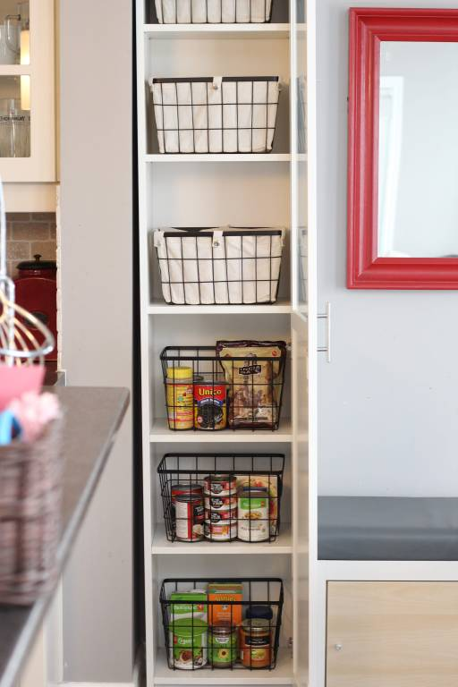 The Easiest DIY Kitchen Pantry Cabinet with the Ikea Billy ...