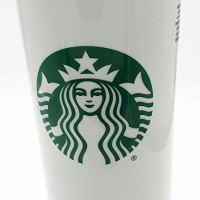 Starbucks Double Wall Ceramic Traveler Coffee Mug, 16 fl oz