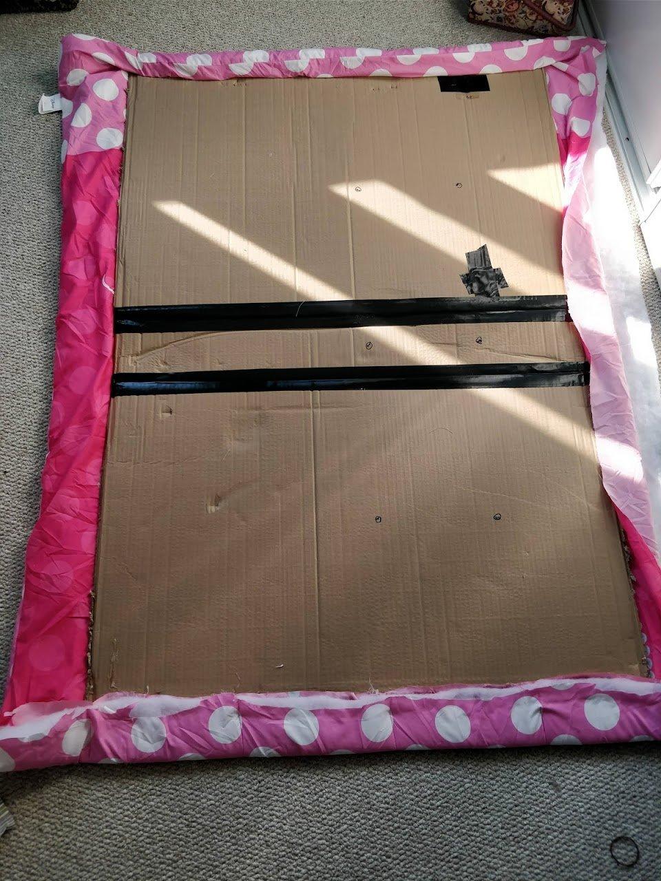 DIY headboard fabric