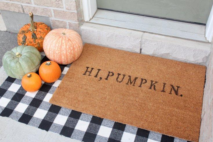 DIY Custom Outdoor Doormat