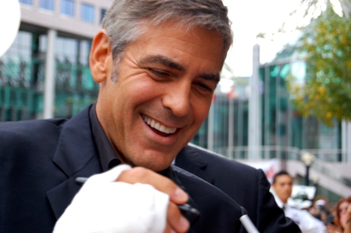 george clooney inspiration