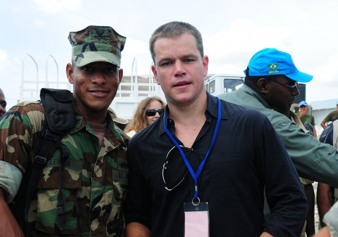 Matt Damon motivation